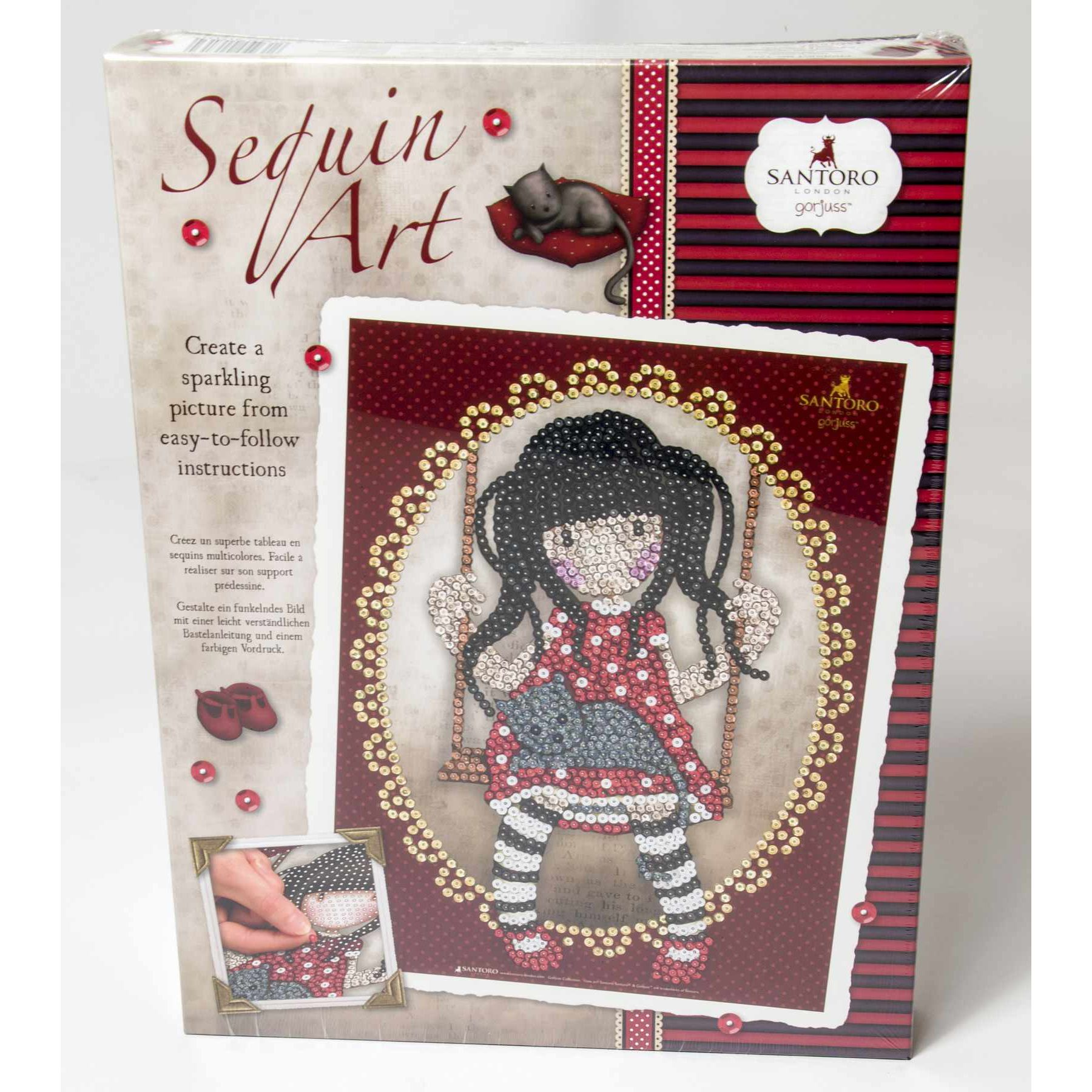 Sequin Art 1713 Gorjuss Ruby